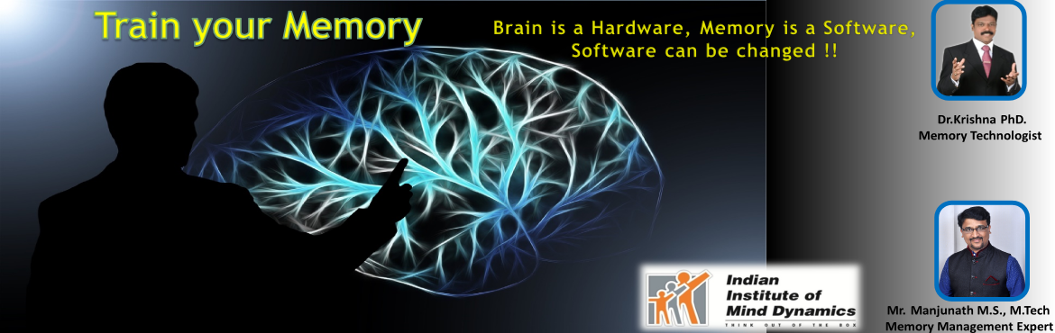 Book Online Tickets for Train your Memory, Bengaluru. Train your Memory \