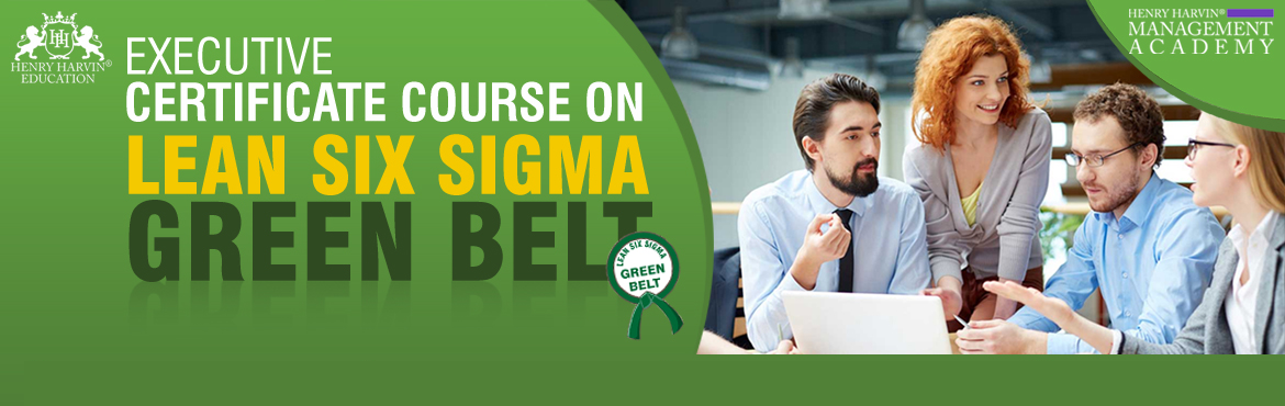 Book Online Tickets for Lean Six Sigma Green Belt Course by Henr, New Delhi. Henry Harvin Education introduces 5-days/20-hours Six Sigma Green Belt Live Online Training Session. Based on this training, examination is conducted, basis which certificate is awarded.Post that, 6-months/12-hours Live-