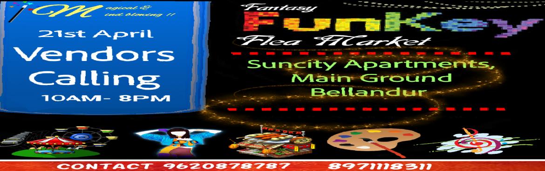 Book Online Tickets for FunKey flea market, Bengaluru.