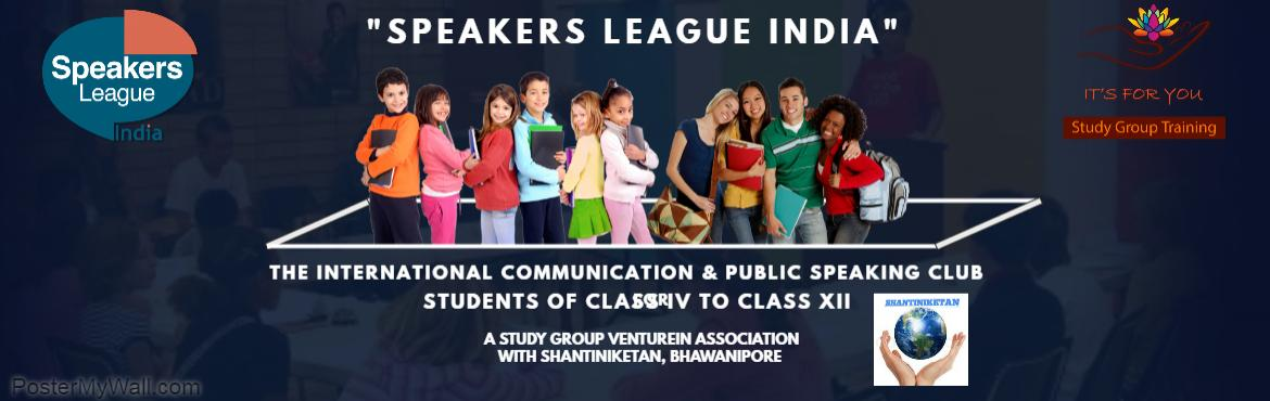 Book Online Tickets for Communicate and Connect - Junior-Bhawani, Kolkata. FREE SEMINAR AT BHAWANIPORE CENTRE  Speakers League India Club- (SLIC) will impart the fun learning skills that will last a lifetime!  As a member of a SLIC a child will learn,How to: Speak more Confidently, Read more Fluently, Write m