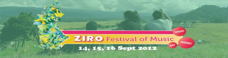 Book Online Tickets for Ziro Festival of Music, Ziro. Ziro Festival of Music is a three day music festival to be held on September 14,15, 16 in the beautiful Ziro valley, Arunachal Pradesh. The festival will feature over 20 top bands from all over the country amidst the most picturesque setting in Nort