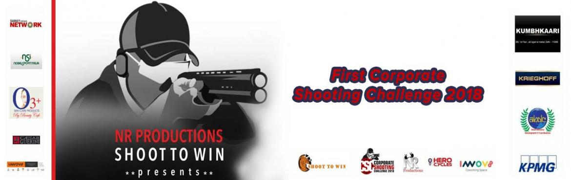 Book Online Tickets for Corporate Shooting Challenge 2018, New Delhi. (CSC) Corporate Shooting Challenge is an Exclusive, First Ever, Shooting Event for Corporates in India, biggest both in terms of prize money as well as the number of participation.   The Event is designed by one of the most accomplishe