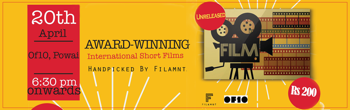 Book Online Tickets for International Short Films-Part 2, Mumbai. TheInternational Short Filmspresented byFilamntare a collectionof avant-garde, cutting edge anddiverseset of films thatpushthe boundariesof creative visualisation. From surreal n