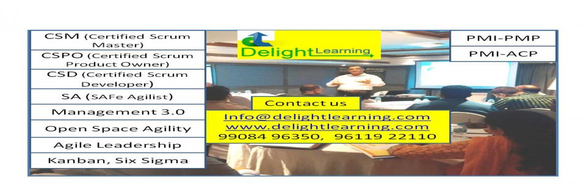Book Online Tickets for Certified Agile Coach-Delhi May 11-12-13, Delhi.  Certified Agile Coach is a 3 days classroom training program which helps participants to differentiate between and among teaching, mentoring, facilitating, consulting and coaching, and will help gain the skills needed to create a safe environme