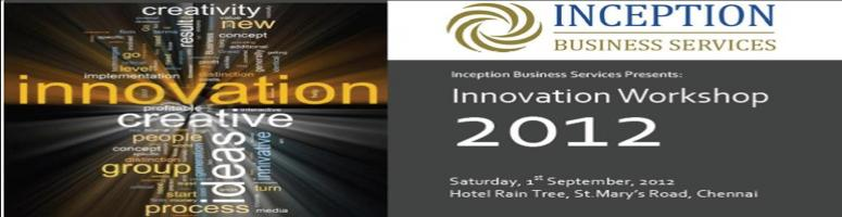 Book Online Tickets for IBS\'s Innovation Day workshop, Chennai. It is a daylong workshop where you can engage, interact, express your views, share some ideas, gain new perspectives, debate and participate with people from various organizations and industries on the subject of Innovation. Sessions will be con