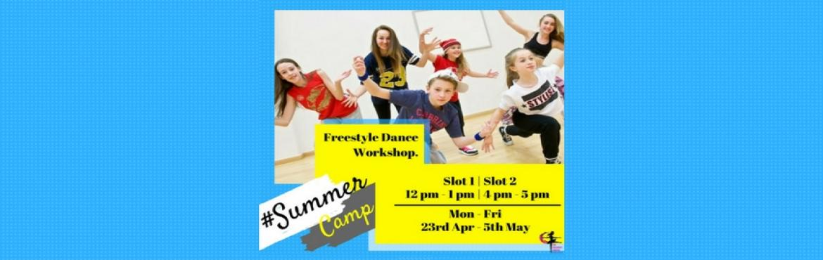 Book Online Tickets for Freestyle Dance Workshop (Kids), Mumbai.  Summers are for fun! Wish to teach your little ones some freestyles moves this season? Then let your kids be a part of one of the best freestyle dance workshops happening in the city. Register now.  When: 23rd April – 5th May (10 d