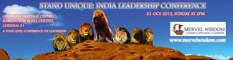 Stand Unique: India Leadership Conference