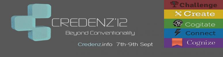 Book Online Tickets for Credenz \'12, Pune. 