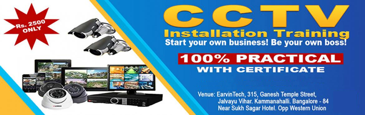 Book Online Tickets for CCTV Training, Bengaluru.   Overview of the Workshop The complete CCTV Installation Course offers a superb blend of \'need to know\' classroom theory and \'hands on\' practical experience. Over 2 full days we will provide you with the necessary knowledge and skills