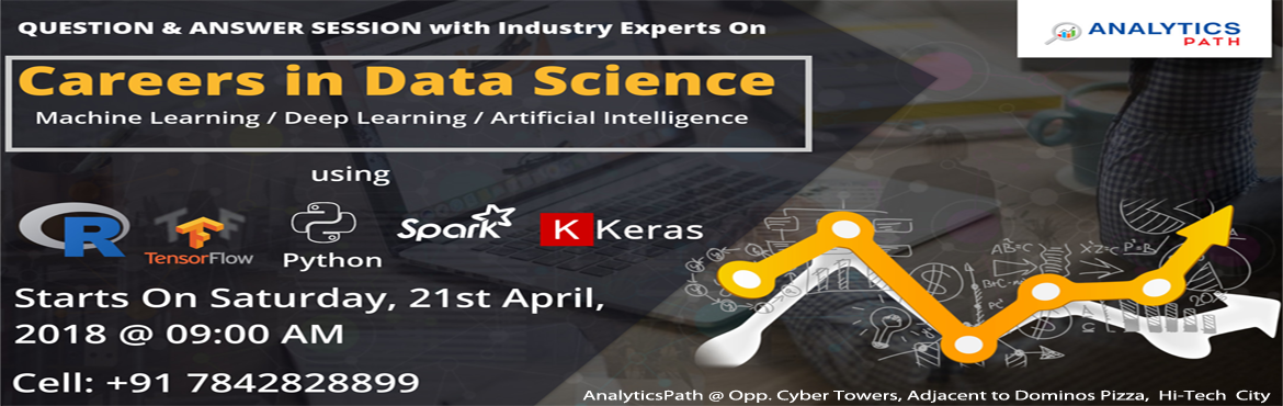 Data Science Training In Hyderabad at Analytics Path helps the audience to leverage skills from basic level to advanced level subject skills in each a