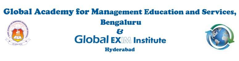Book Online Tickets for Fast Track Entry to EXPORT-IMPORT -5days, Bengaluru. Global Academy for Management Education and Services, Bangalore and Global EXIM Institute, Hyderabad is jointly organising this programme  from 26-30th Sep in  Bangalore.