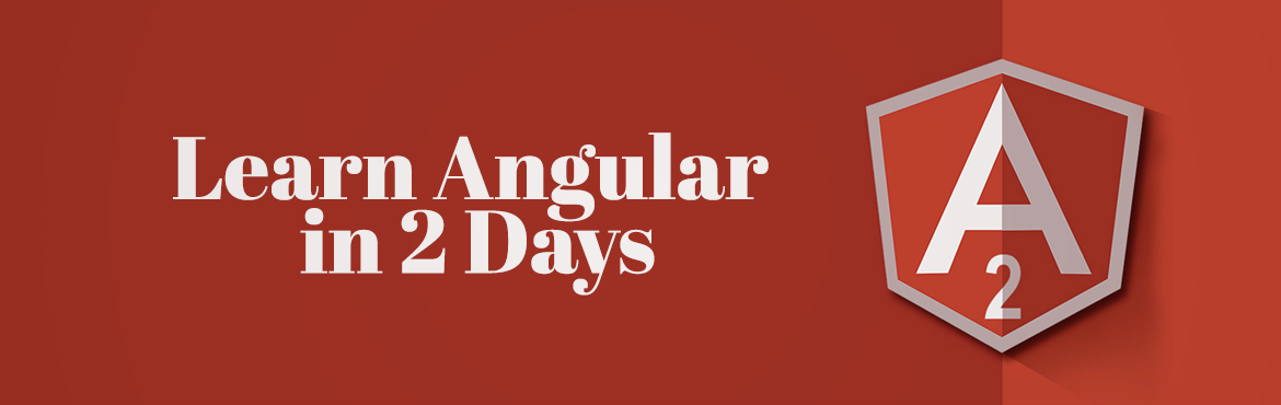 Book Online Tickets for Learn Angular in 2 Days , Ahmedabad. The buzz around Angular and the relevance front end framework in the market, this is a critical focus area. This course is mainly for professionals who are currently working as developer and want to enhance their skills with Angular.we found some of