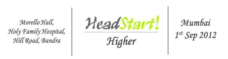 Headstart Higher Mumbai - Sep 1, 2012