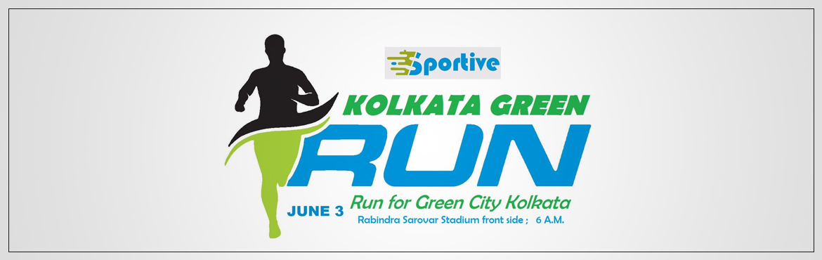 Book Online Tickets for Kolkata Green Run, Kolkata. This is the run to instigate awareness for Go Green for our beloved City..    Lets run for Green City Kolkata on the eve of World Environment Day. Category: A) 10+ KM for open to all (16 years and above) and 50+ age B) 5+ KM for open to all ( 1