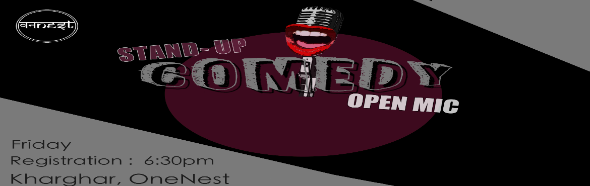 Book Online Tickets for Standup Comedy , Navi Mumba. OneNest Presents Standup Comedy Night. The show will start at 8 pm We have 14 participants with some featured comics.