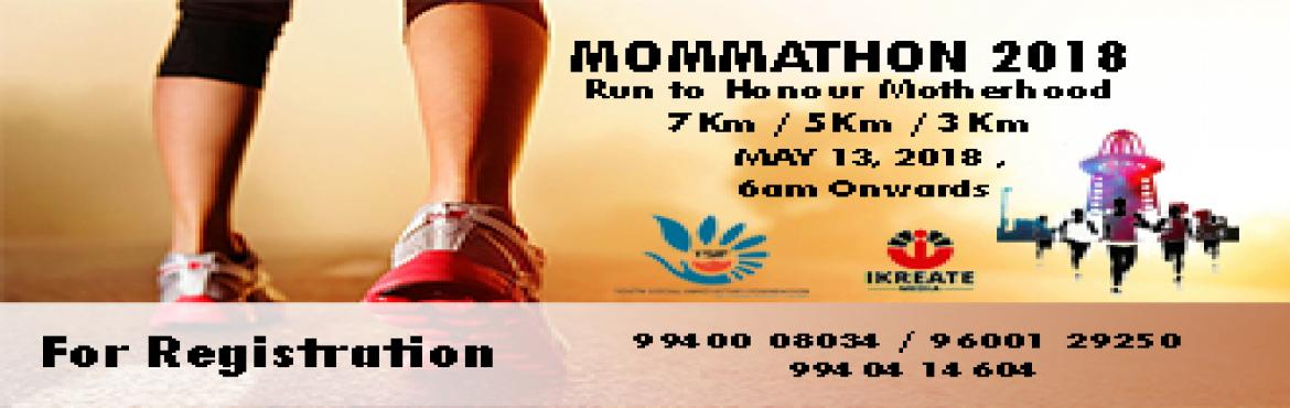 Book Online Tickets for MOMMATHON 2018 - MOTHERS DAY MARATHON, Chennai. iKreate Media is happy to launch our Second Edition of Mommathon 2018 - Mothers day marathon in Anna nagar Tower Park... Starting point will be from the back gate of tower park.