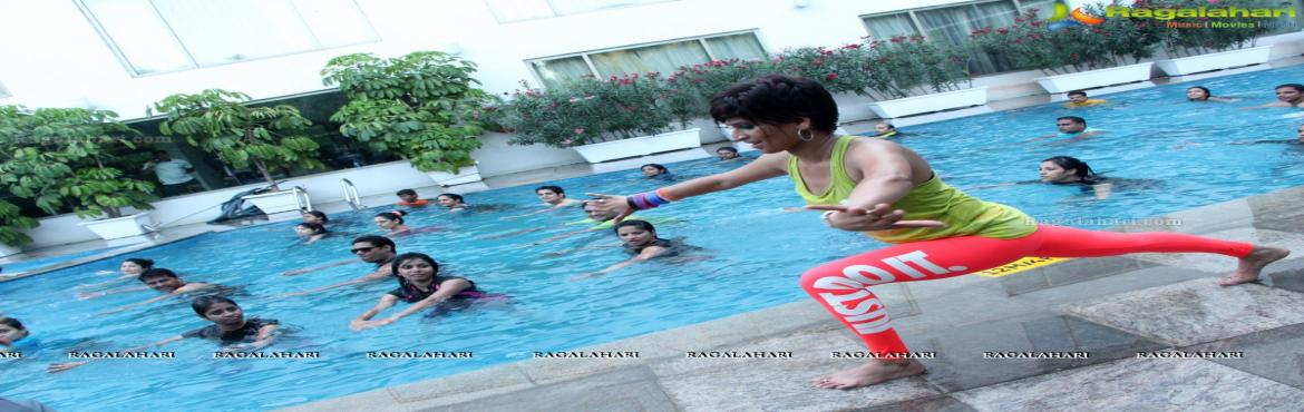 Book Online Tickets for AQUA ZUMBA in Indoor Swimming pool, Hyderabad. Give your calories one last Dance withAqua Zumba Registration fee : 480 (Includes Trainer cost, swimming pool cost, Music)Date: 29/04/2018Time: 3.00pmA total workout, combining all elements of fitness – cardio, muscle conditioning, balance and