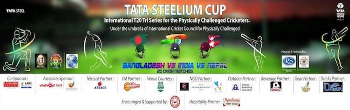 Book Online Tickets for Tata Steelium Cup - Tri Nation Series, Kolkata.  The Tri Nation Series will kick off on 25th April,2018 with the opening match between India & Nepal, followed by Bangladesh Vs Nepal on 26th and India vs Bangladesh on 27th.The final will be on 28th.  Chief Guest is Shri Partha