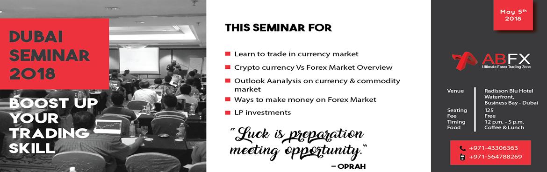 Book Online Tickets for Financial Empowerment Seminar in Dubai, Dubai. Registration link:https://seminar.alphabetafx.com/dubai/ Save the date, AlphabetaFX is coming to Dubai.AlphabetaFX is conducting \