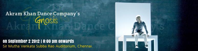 Akram Khan\'s - Gnosis - Chennai