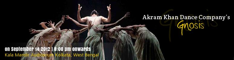 Book Online Tickets for Akram Khan\'s - Gnosis - Kolkata, Kolkata. Great Indian mythology showcased through enchanting forms of dance