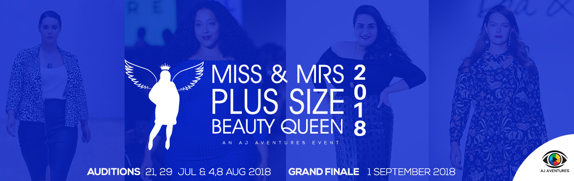 Book Online Tickets for Ms and Mrs Plus Size Beauty Queen 2018, Hyderabad. Auditions on July 21,29,  and Aug 4th & 8th.... Grand Finale on Septmeber 1st AJ Aventures Is proud to announce Miss and Mrs Plus Size Beauty Queen 2018  to give a women platform to showcase their talents. To empower women with the