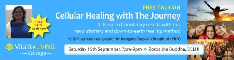 FREE EVENT - INTRODUCTION TO THE JOURNEY DELHI Sept 15th