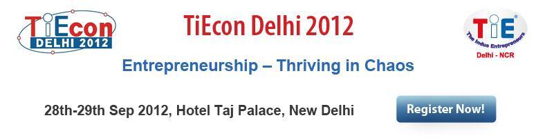 TiEcon Delhi 2012