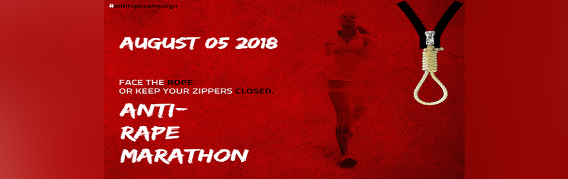 Book Online Tickets for Anti-Rape Marathon, Delhi. Anti-RapeMarathonis more than a Marathon. It is the seed of change. It is the beginning of a movement carried forward by a growing community of Running Enthusiasts across India, who share a belief that a healthy family, a healthy na