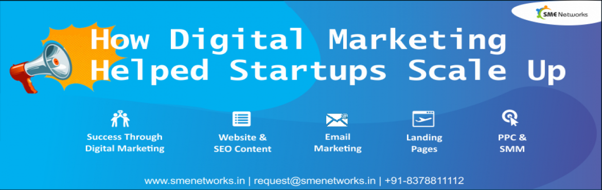 Book Online Tickets for How Digital Marketing Helped Startups Sc, Pune. How Digital Marketing Helped Startups Scale Up Be Part of the Digital Marketing Era Introduction1. Do you have enough customers?2. You want an incremental pipeline of prospects?3. You have tried all conventional marketing tech