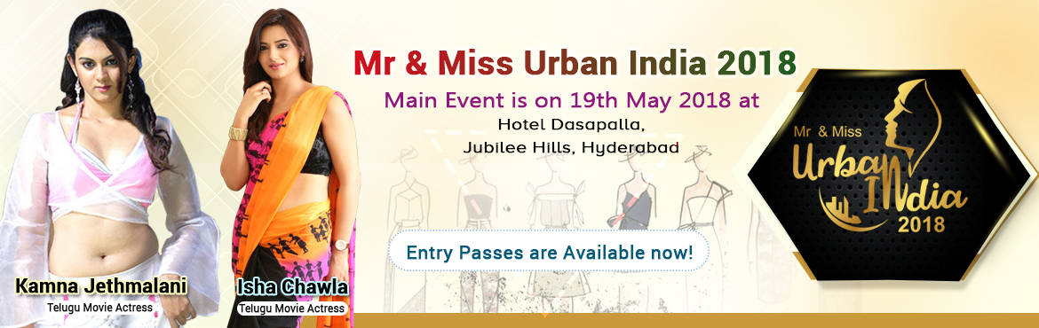 Book Online Tickets for National Fashion Contest, Hyderabad. 4 Pre Events were conducted to get the best contestants National fashion Event, A prodigious fashion event on may 19th2018 Come fall in love with the new and trendy happenings in the city on May 19th 2018 at hotel Daspalla. After conducting 4 p