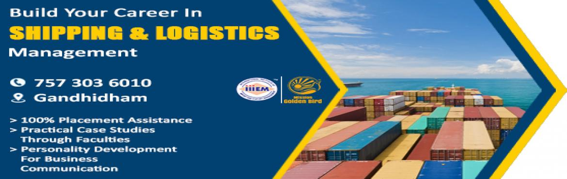 Book Online Tickets for Build your career in Shipping and Logist, Gandhidham. 1.Objective- To Provide Working Knowledge of Shipping and Logistics- To enhance Indian Exporters competitiveness in International Market- To develop Skills and Infrastructure required to improve Indian Economy- Be a part of Building Infrastruct