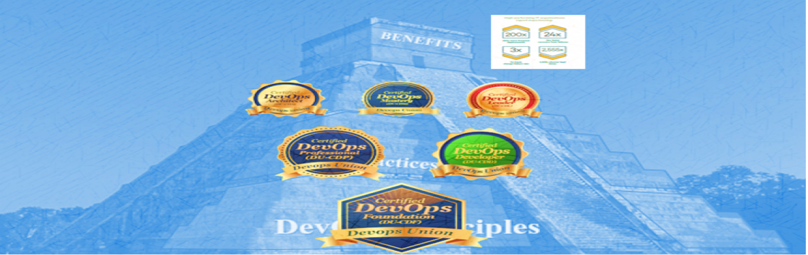 Book Online Tickets for DevOpsUnion- Certified DevOps Leader(DU-, Hyderabad.     Certified DevOps Leader (DU-CDL) course is Sixteen (16) hours of instructor-led training, simulation and exercise facilitation for individual who lead, drive DevOps Adoption. After the training, you will be able to lead the organizational c