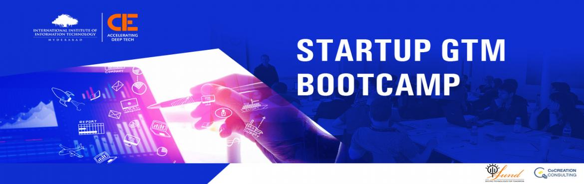 Book Online Tickets for Go-To-Market Bootcamp, Hyderabad. Go-To-Market (GTM) strategy is an essential process for a startup business to generate traction fast. This bootcamp covers the essential components of a product market fit, GTM strategy i.e. branding, value proposition, segmentation and bea