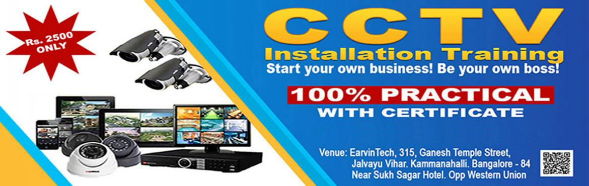 Book Online Tickets for CCTV Training, Bengaluru. Overview of the Workshop The complete CCTV Installation Course offers a superb blend of \'need to know\' classroom theory and \'hands on\' practical experience. Over 2 full days we will provide you with the necessary knowledge and skills to star your