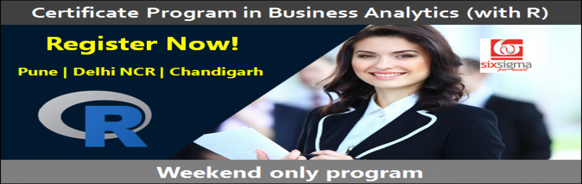 Certificate Program in Business Analytics with R - Pune