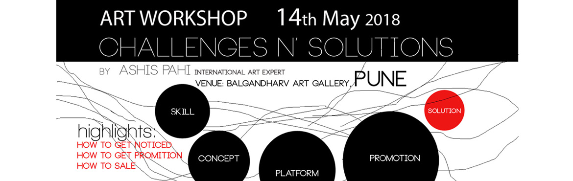 Book Online Tickets for Art, challenges and solutions by Ashis P, Pune.