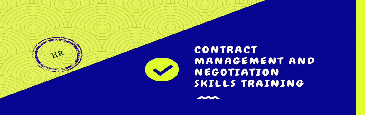 Book Online Tickets for Announcement: Contract Management and Ne, Kolkata. Consultivo Academy brings to you the Contract Management & Negotiation Skills training programme on 25th & 26th May 2018 to inspire the excellence within you. The more skillfully you negotiate, the better your organisation's c