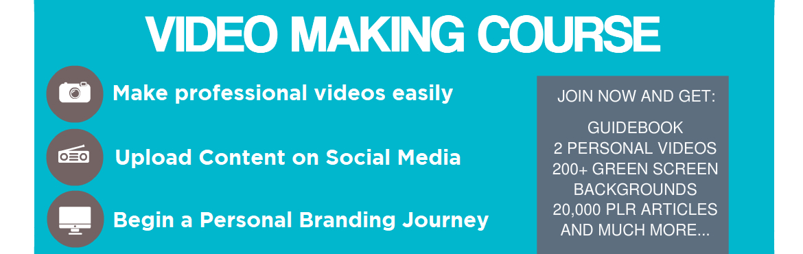 Book Online Tickets for Video Making Course - One Day Workshop, Mumbai. SPECIAL EARLY BIRD OFFER FOR ITC MEMBERS Video Making Workshop - One Day