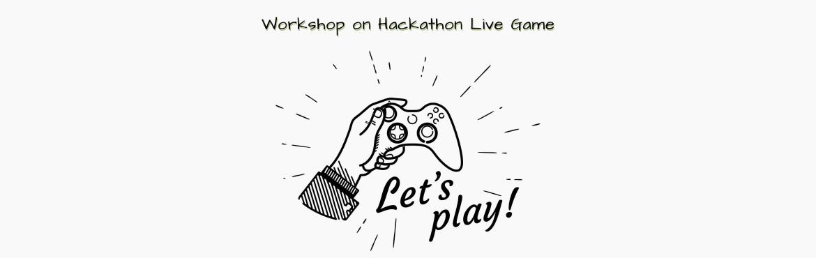 Book Online Tickets for Hackathon Live Gaming Event, Hyderabad. About   The Hackathon Live Gaming Event is organised to test the developing skills of students. The students have to develop a small game project in the given duration. They can use their desired programming language or game engine to build the