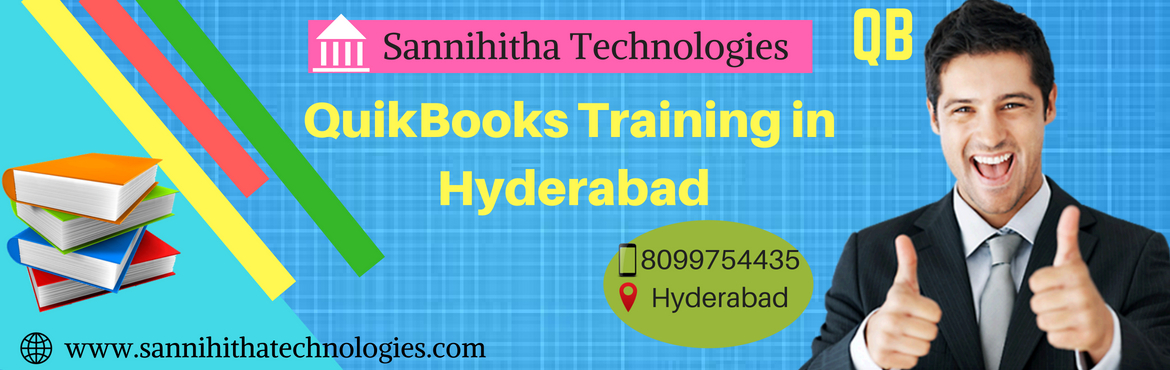 Book Online Tickets for Quickbooks Training in Hyderabad , Hyderabad.  About The Event  Hi,  Greetings to Quickbooks training seekers..Good news to those who wanna become quickbooks professional / entrepreneur /intended to start their own business.We are going to start Quickbooks training in hyderabad