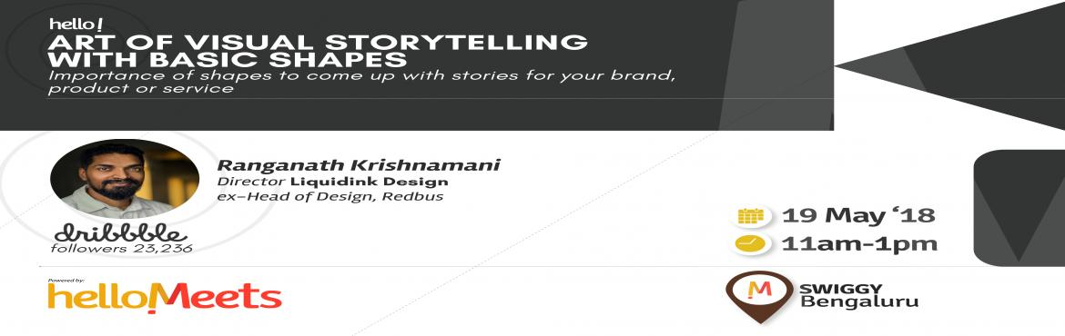 Book Online Tickets for Art of Visual Storytelling with Ranganat, Bengaluru.        About the Speaker: Ranganath Krishnamani, Creative Director at Liquidink Design  He has over 16 years of experience working in leading roles at companies like Adobe, RedBus, Hyperion and Oracle before starting on his own An alum