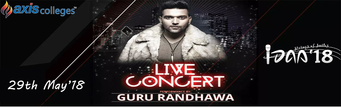 Book Online Tickets for Guru Randhawa Concert  IDAA 2K18, Kanpur. Guru Randhawa aka Gursharanjot Randhawa is a Punjabi pop singer and songwriter. He is also famous as High Rated Gabru because of his solo track with the same title. Guru Randhawa got recognition as a singer with his famous so