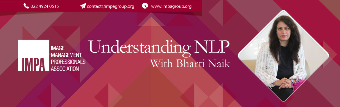 Book Online Tickets for Understanding NLP With Bharti Naik, Vadodara. Bharti Naik is a Relations Strategist. She has helped over 55,000 people in transforming their lives in last 15 years. Her mission is to transform lives of millions by helping them identify their relationship code and reprogram it for the best life.&