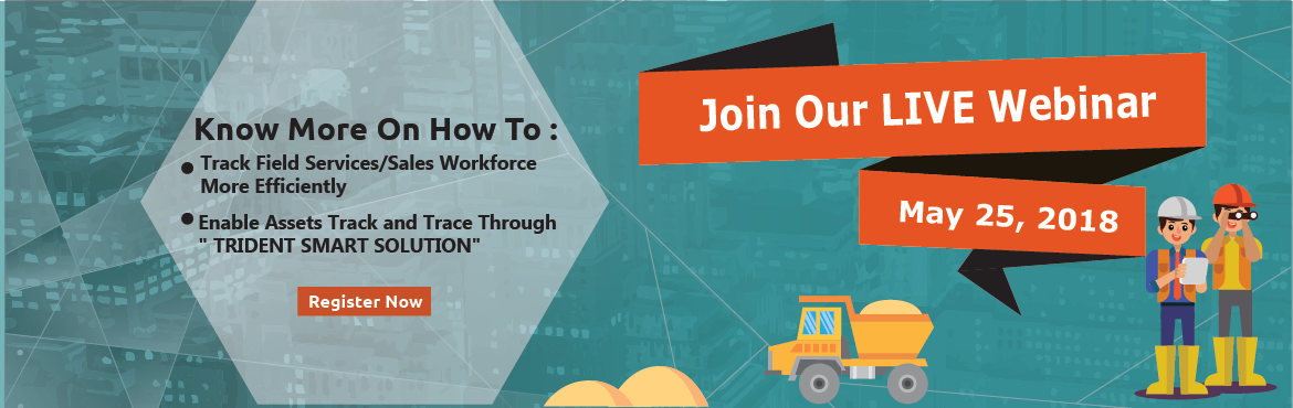 Book Online Tickets for Live Webinar on Smart Assets Tracking, T, New Delhi.  Mobility Enterprise Applications & Smart Asset Track & Trace  Know more on How to :    Track Field Service/Sales Workforce More Efficiently    Enable Assets Track and Trace through \