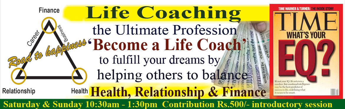 Book Online Tickets for How to become a Motivational Speaker to , Hyderabad.  If you are passionate about not only improving the quality of your life, but helping others do the same, then you have an opportunity to be a Life Skills Trainer with Life Management Academy.  Imagine waking up each morning totally ha