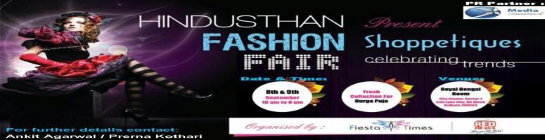 Book Online Tickets for Hindusthan Fashion Fair \