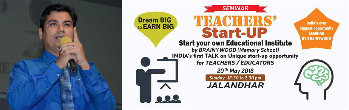 Book Online Tickets for Memory Training for Teachers, Jalandhar. FREE SEMINAR - for TEACHERS / TRAINERS - COLORS OF INTELLIGENCE.India\'s First startup Forum for TEACHERS and TRAINERSUse your talent and earn good amount every month.To know \