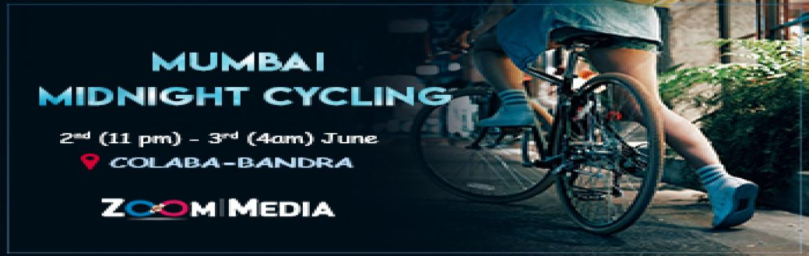 Book Online Tickets for Mumbai Midnight Cycling, Mumbai. Want to take a break from your bustling, busy schedule? Want to get away? Don't worry. Zoom Media has got you covered. Mumbai midnight Cycling to the rescue! This 2nd- 3rd June, come join us on an exciting journey, a 25km cycling tour across th