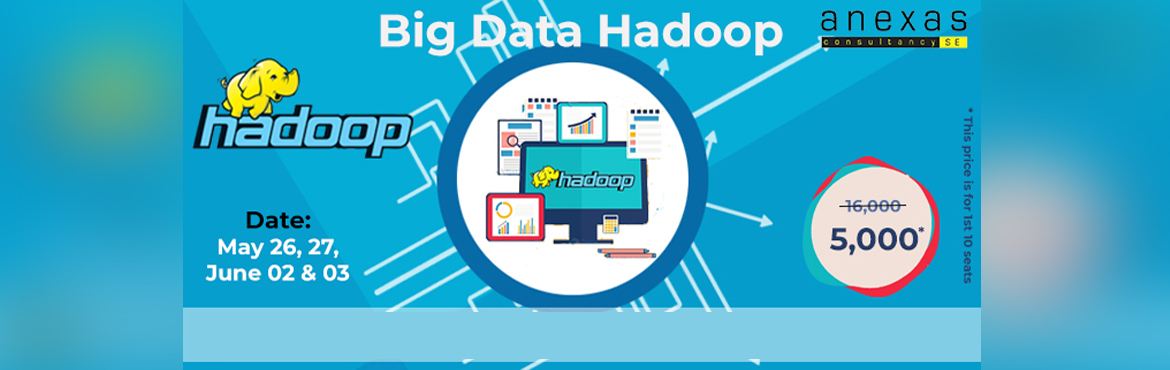Book Online Tickets for Big Data Hadoop Training and Certificati, Bengaluru. Lack of project exposure is one of the biggest challenges faced by IT companies while recruiting new hires like you. To bridge this gap, the Anexas Hadoop Program provides an opportunity in Experiential Learning to work on projects based on real-worl